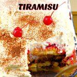 No Bake Black Forest Tiramisu | potluck dessert - foodmeanderings.com