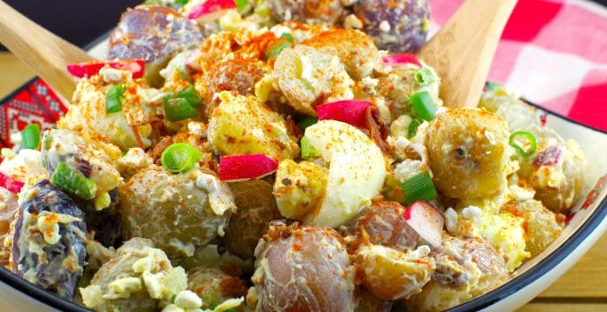 Perogy Potato Salad (Gluten-free) Summer Days & BBQ's