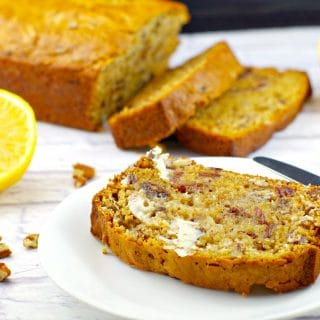 Old Fashioned Date Nut Loaf: NOT Carrot Bread's Ugly Sister