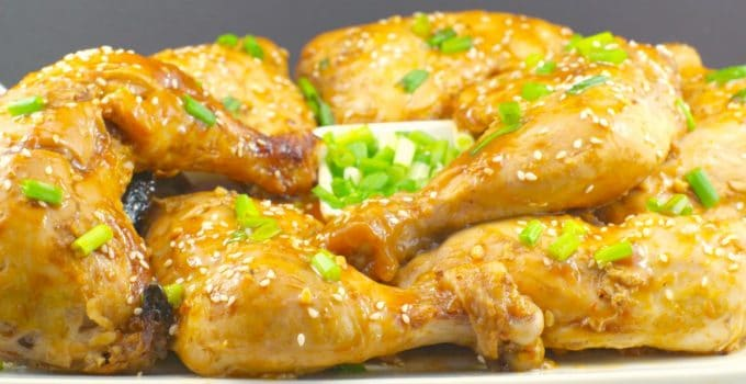 Easy Baked Hoisin Chicken Quarters – Weight Watchers Friendly