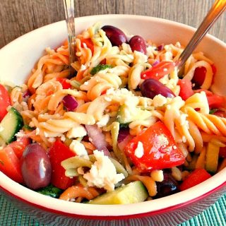 Greek Pasta Salad Recipe: The Simple Things in Life