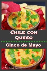 Chile Con Queso - Cinco de Mayo - foodmeanderings.com