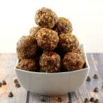 Chocolate Cherry Energy Bites - Foodmeanderings.com