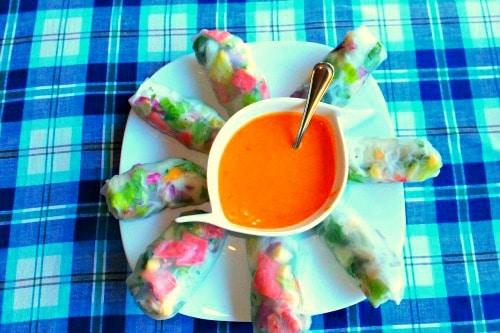 Summer Salad Rolls | easy, healthy - Food Meanderings