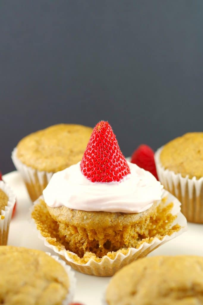 Pancake cupcakes - gingerbread - foodmeanderings.com