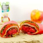 Turkey Club Ranch Wrap - tortilla wrap - Foodmeanderings.com