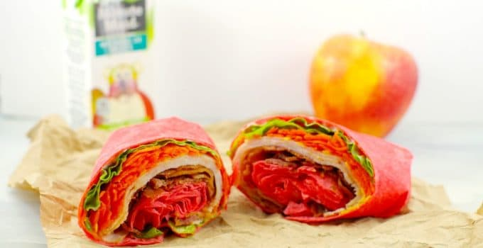 The 5 Minute Turkey Club Ranch Wrap