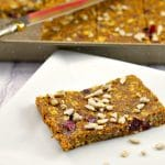 Healthy Fruit & Oatmeal bars | vegan - Foodmeanderings.com