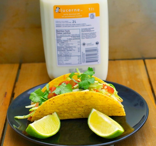 Fish tacos | milk food hack - Foodmeanderings.com