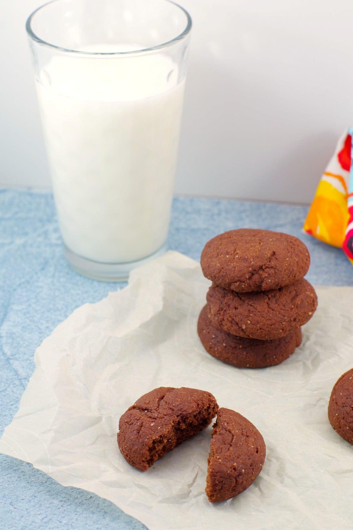 Red Velvet Cookies - healthy