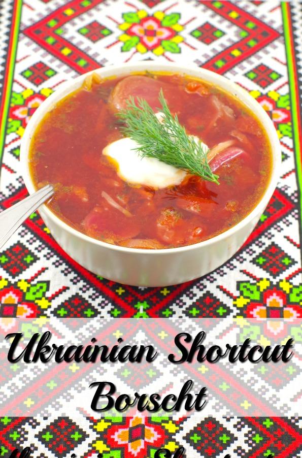 Ukrainian Shortcut Borscht - weight watchers - foodmeanderings.com