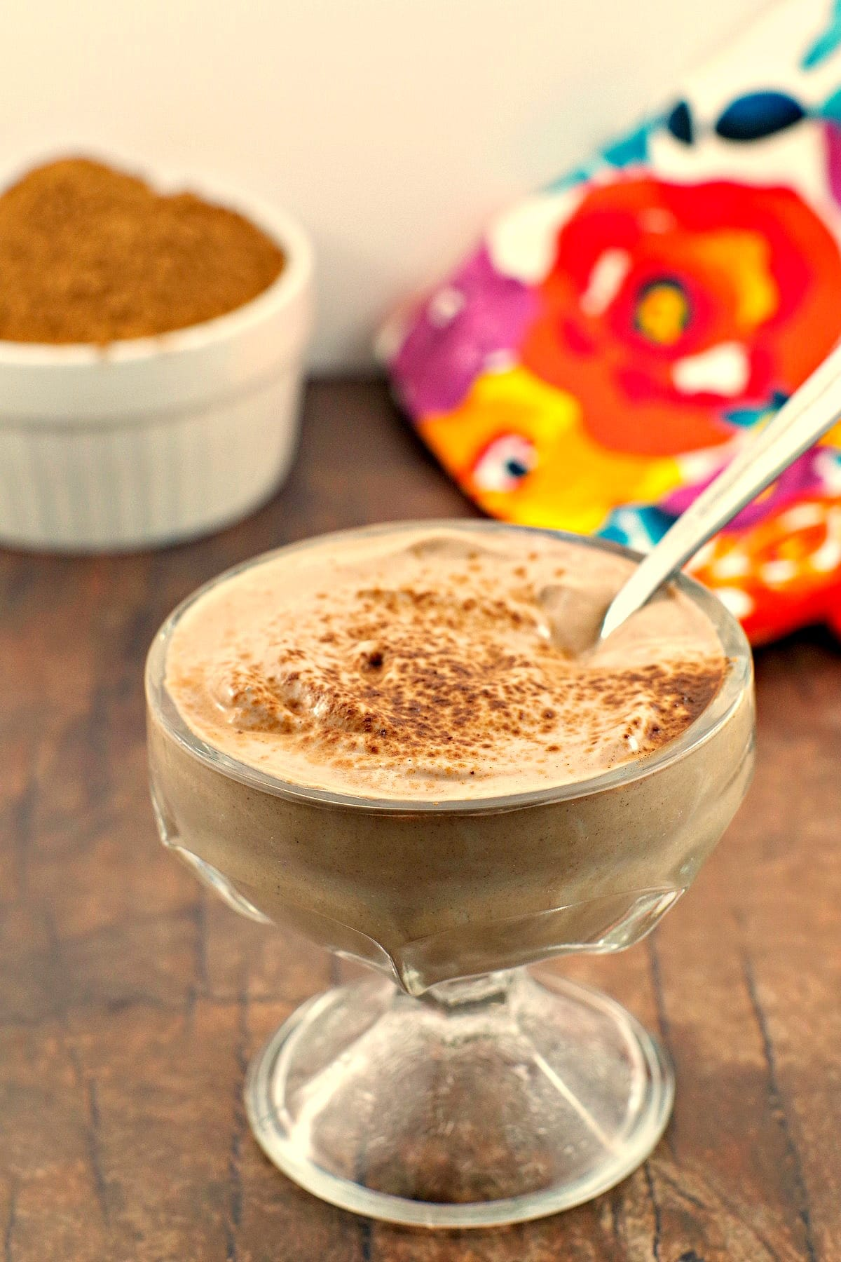Chocolate Yogurt |#chocolate #yogurt - Foodmeanderings.com