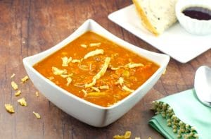 EasyCreamy Carrot Soup  no cream -Foodmeanderings.com