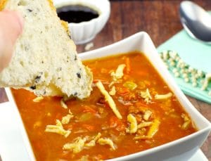 Easy Creamy Carrot Soup| Health - Foodmeanderings.com