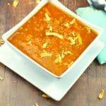 Easy Creamy Carrot Soup | no cream - Foodmeanderings.com