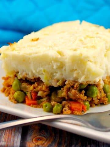 Healthy Shepherd's Pie | turkey - foodmeanderings.com