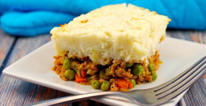 Healthy Turkey Shepherd's Pie – Weight Watchers Friendly