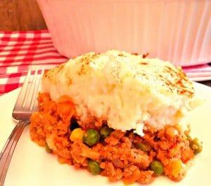 Turkey Shepherd's Pie | healthyshepherspie - Foodmeanderings.com