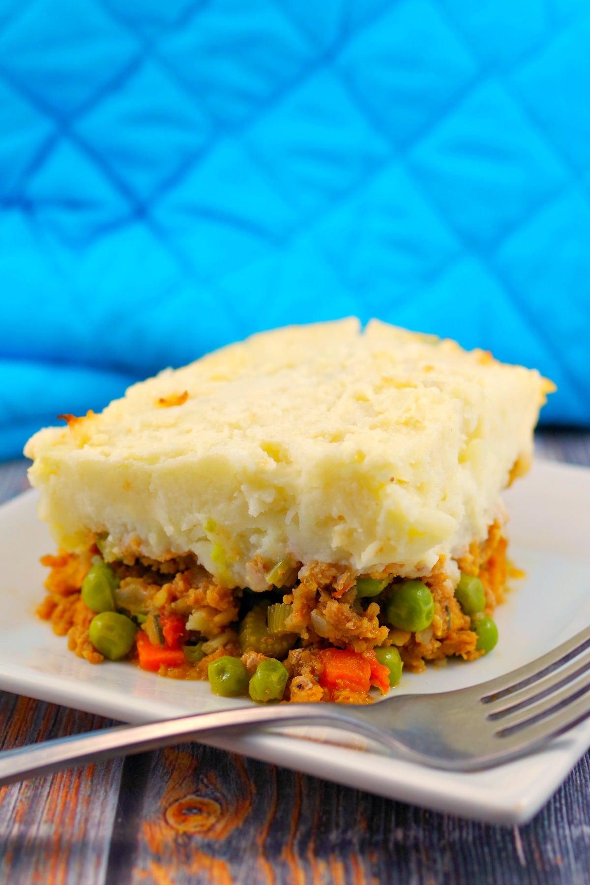 Turkey Shepherd's Pie recipe   weight watchers recipe - foodmeanderings.com