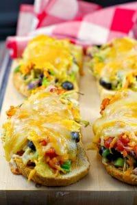 Mexican Tuna Melts | #tunamelts - Foodmeanderings.com