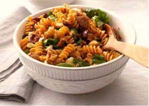 Greek Pasta Toss | Healthy and easy - Foodmeanderings.com