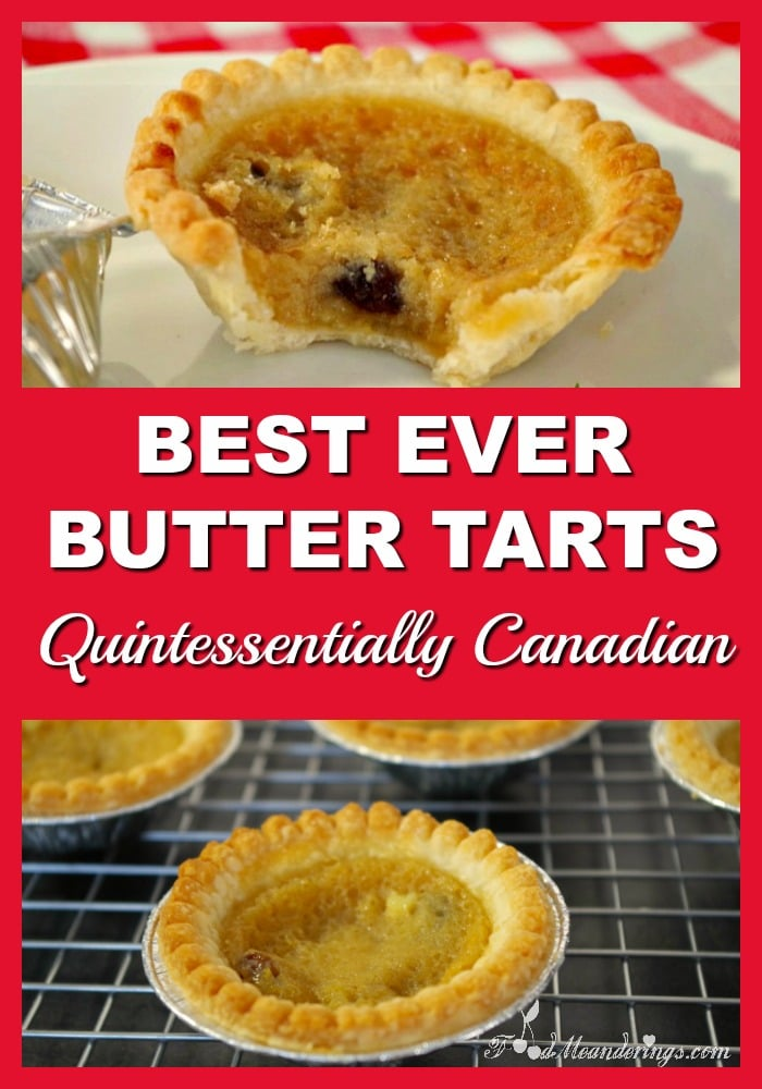 Best Ever Butter Tart | Canadian - foodmeanderings.com
