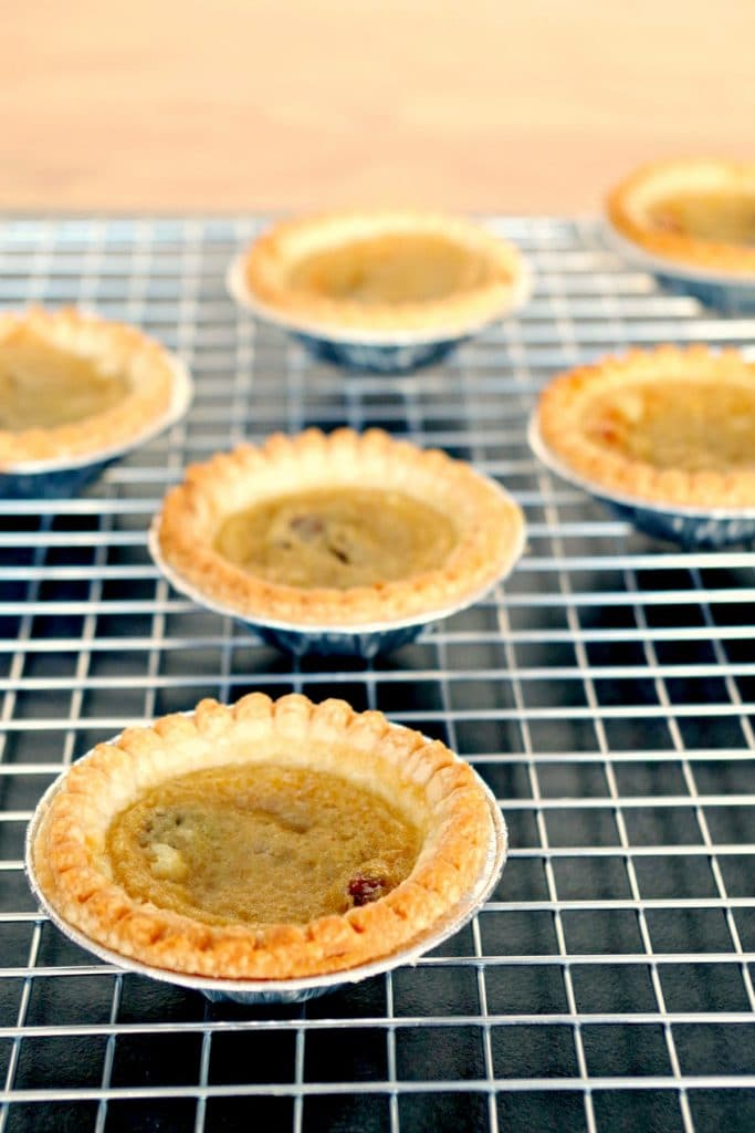 Easy Butter Tart Filling | #buttertartrecipe - Foodmeanderings.com
