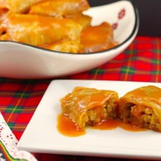 Scottish Cabbage Rolls (Gluten-free)