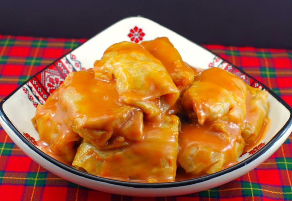 Scottish meat and rice cabbage rolls | Ukrainian - foodmeanderings.com