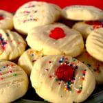 Simple Whipped Shortbread cookie - 4 ingredients