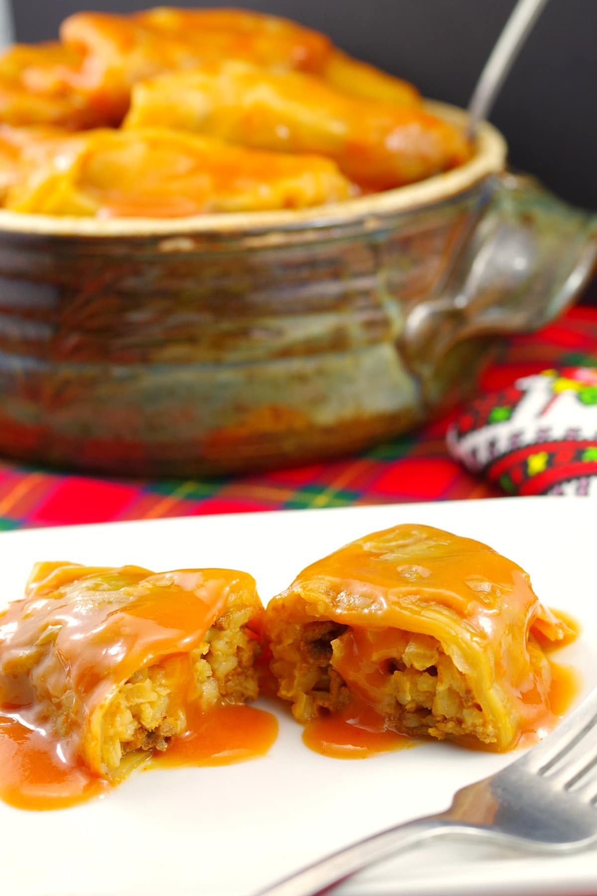 Ukrainian Scottish Cabbage Rolls | #cabbage #ukrainian #holbutsi