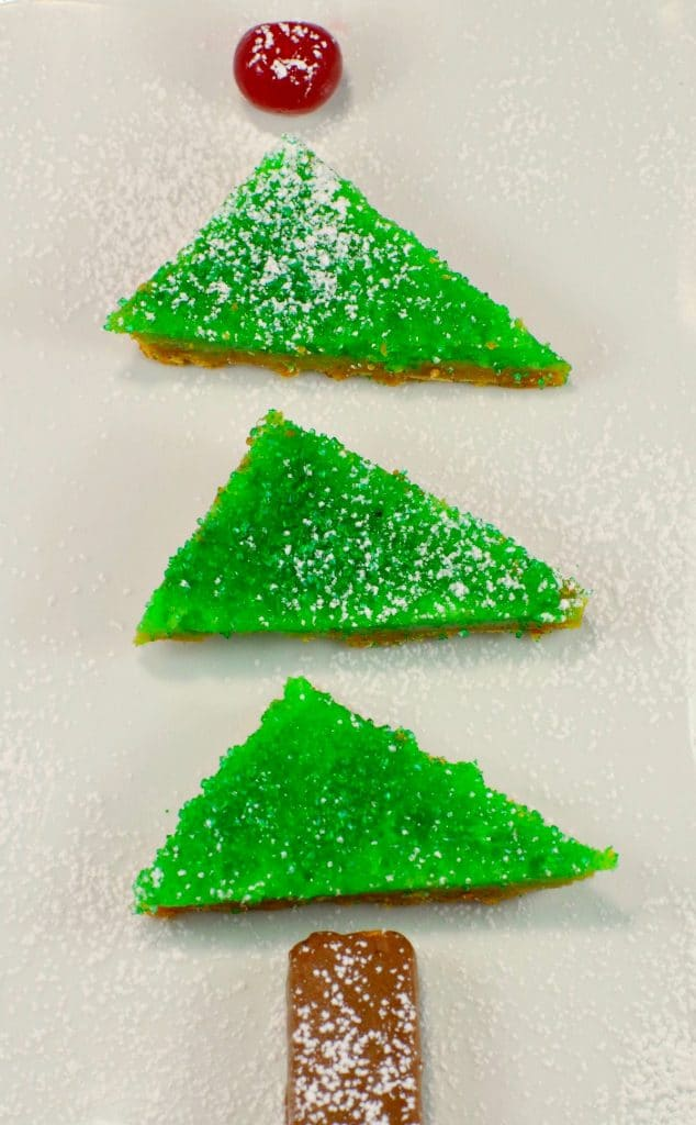 Gingerbread Lime Tree Recipe | #gingerbread #lime - Foodmeanderings.com