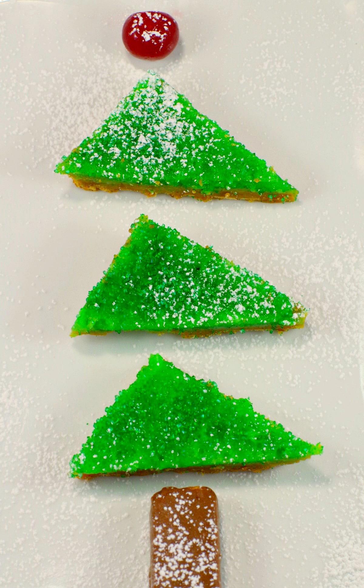 Gingerbread Lime Tree Recipe | #gingerbread #lime - Foodmeanderings.com