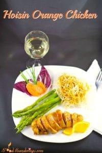 Easy Hoisin Orange Chicken - Foodmeanderings.com