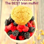 Walnut Bran Muffin - the best bran muffin ever! #muffin #healthy #bran