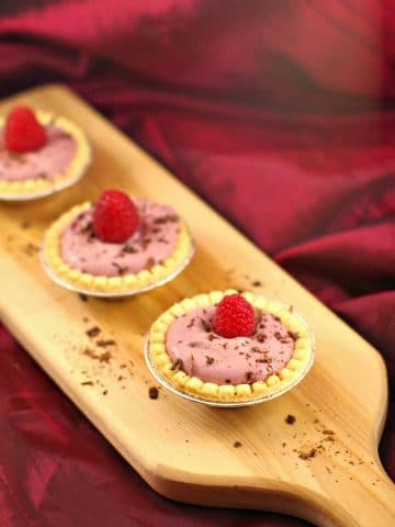 Raspberry Tiramisu Tarts | easy dessert - Food Meanderings