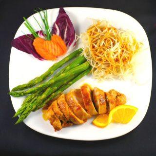 SAUTÉED HOISIN ORANGE CHICKEN: A Healthy 20 minute Valentine's Day Dinner