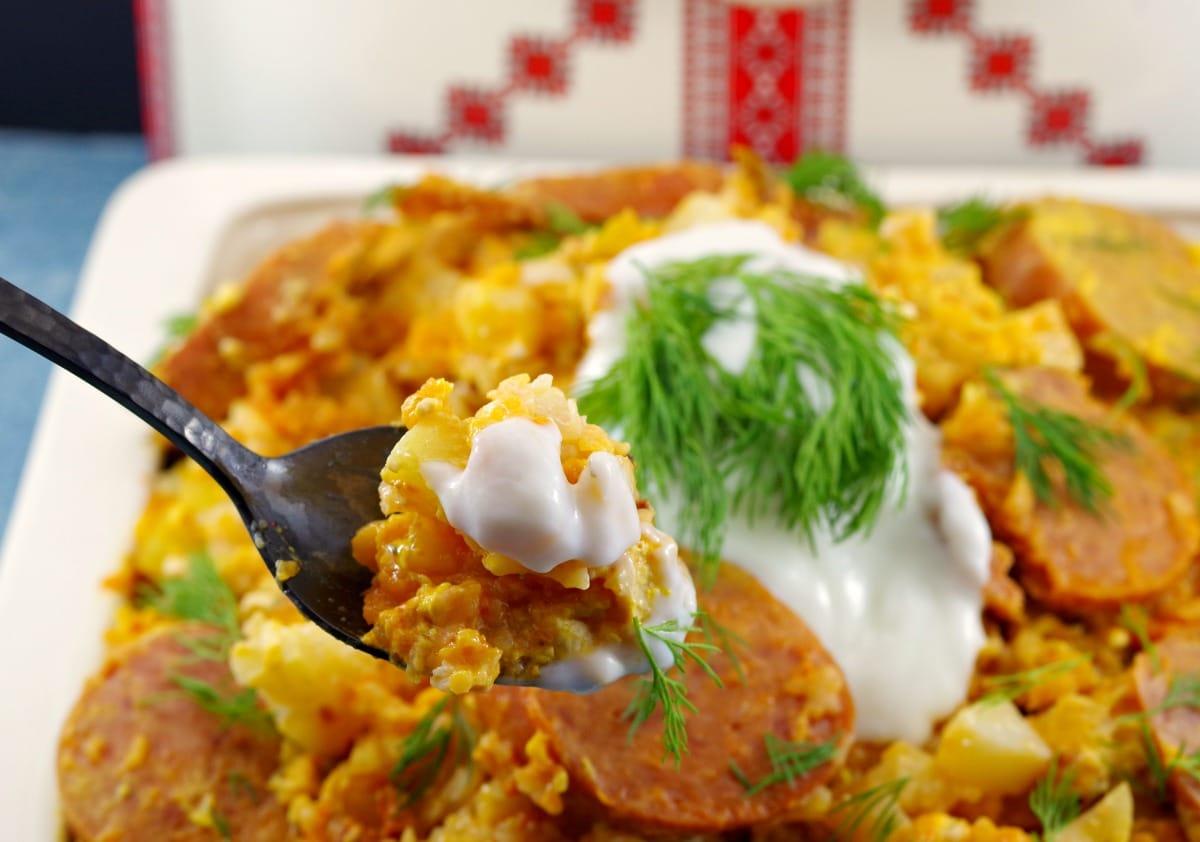 Ukrainian cuisine - slow cooker casserole