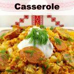Ukrainian Daughter's Slow cooker casserole | #ukrainian #recipe #slowcooker #casserole
