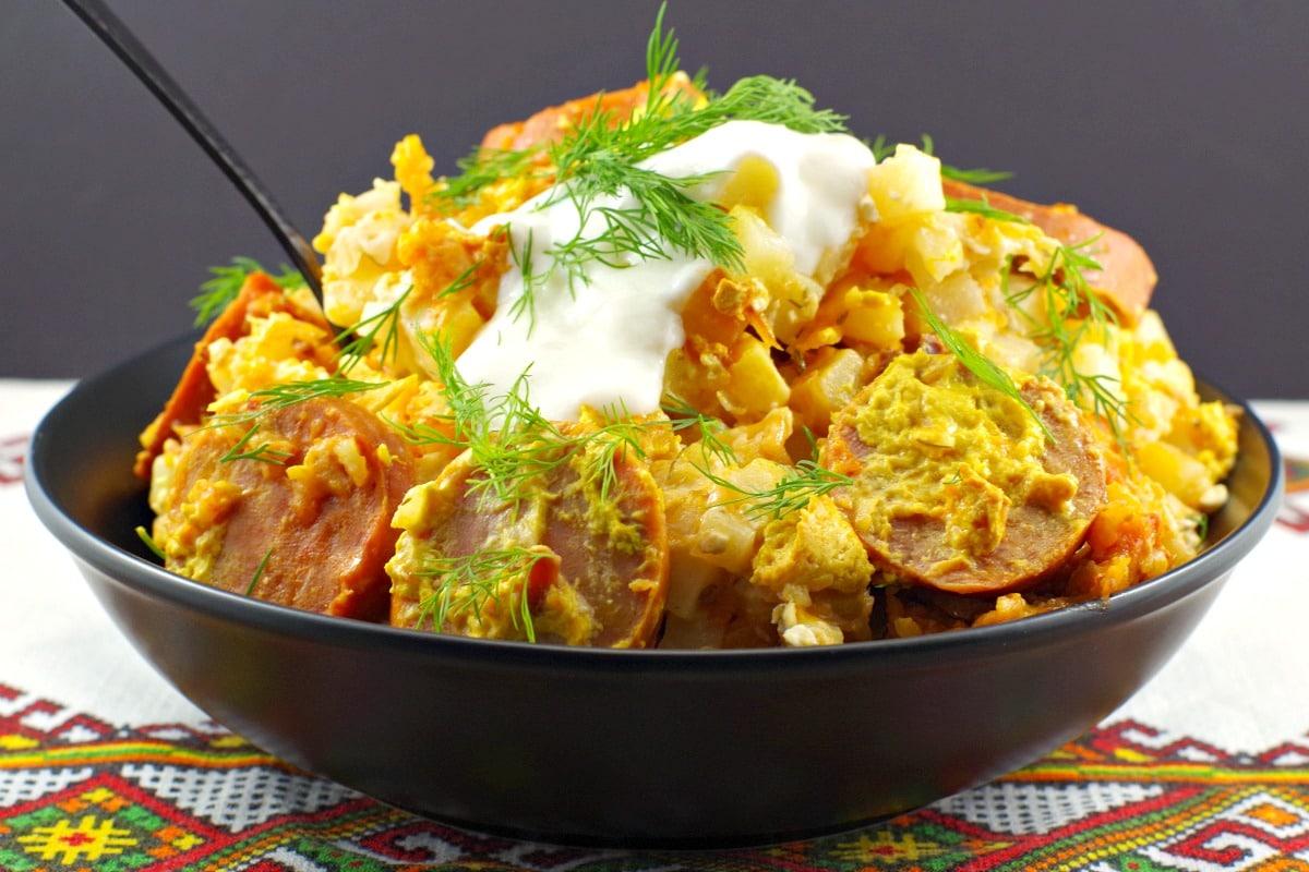 Ukrainian recipe for casserole in slow cooker