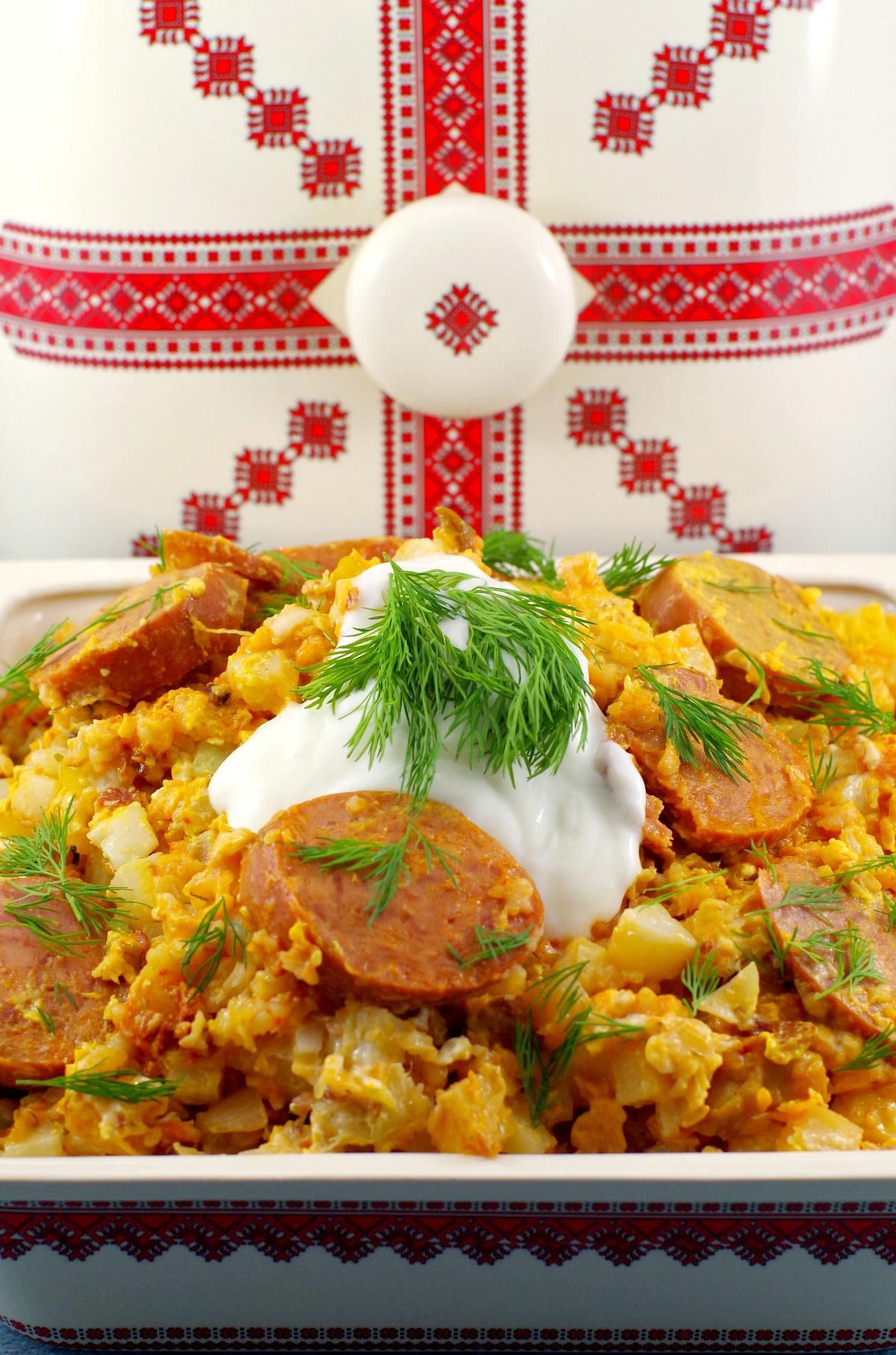 Ukrainian recipe for slow cooker casserole