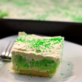 Pistachio Dessert- 30 minute St. Patrick's Day Recipe