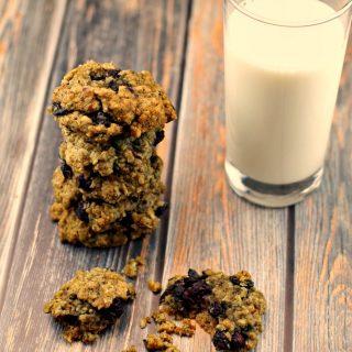 Saskatoon Berry Oatmeal Cookies & Picking Adventures