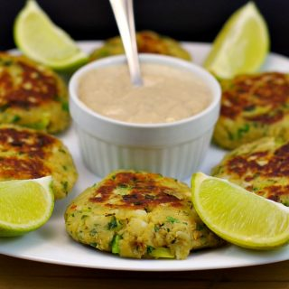 Asian Pan-Fried Salmon Patties with Creamy Ginger Lime Sauce and sleep deprivation