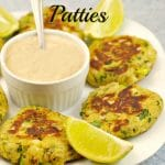 Easy Asian Pan-fried Salmon Patties - foodmeanderings.com