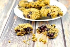 Saskatoon Berry Cookies - foodmeanderings.com