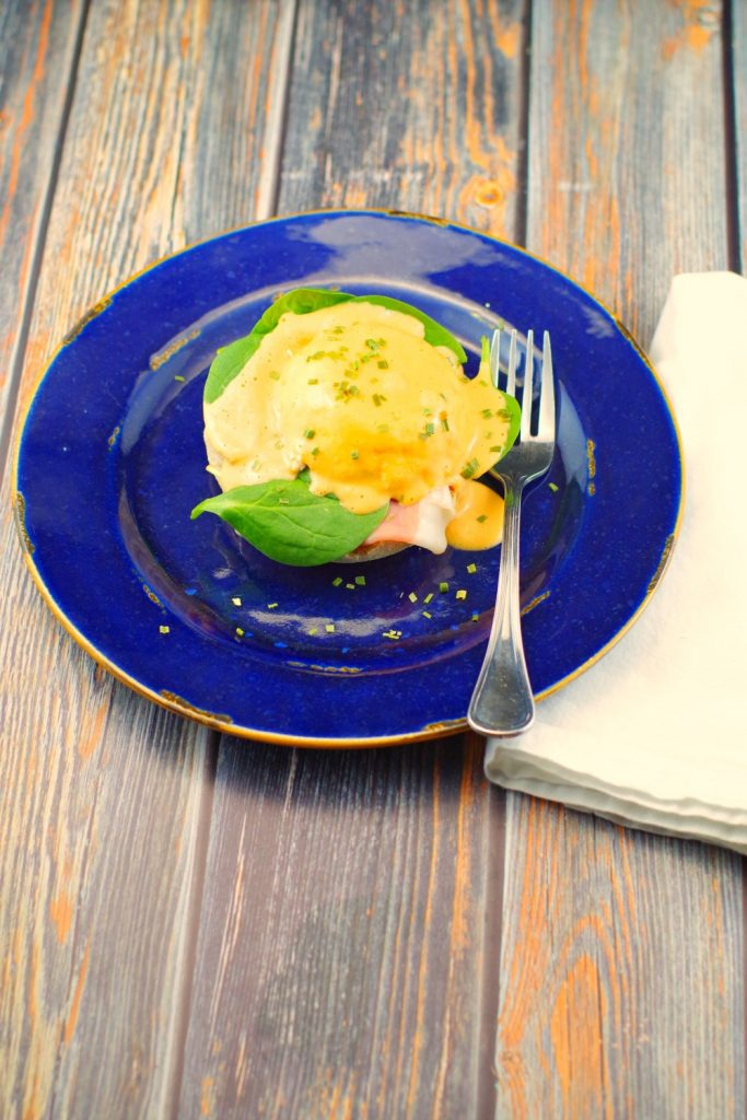 Red Pepper Eggs Benedict | blender Hollandaise - Food ...