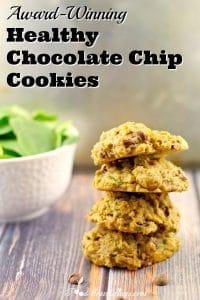 Healthy Chocolate Chip cookies | award-winning - foodmeanderings.com