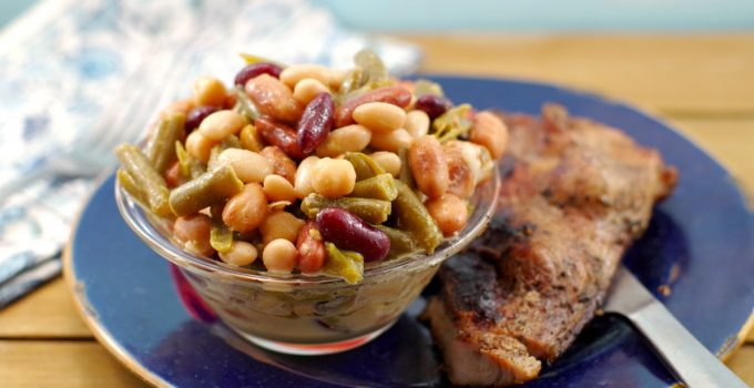 Easy Bean Salad in 5 minutes (vegan & gluten-free)