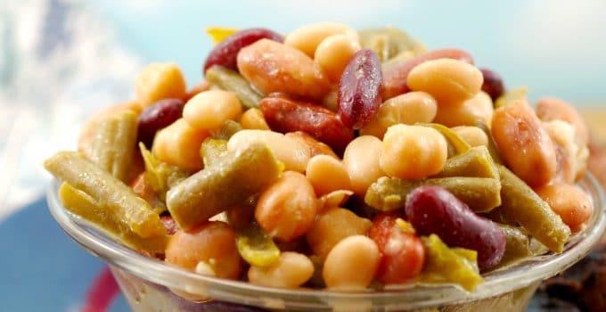 Easy Bean Salad (vegan)- in 5 minutes